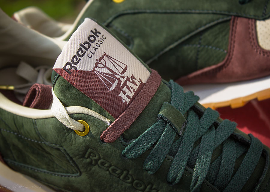 reebok classic leather suede burgundy
